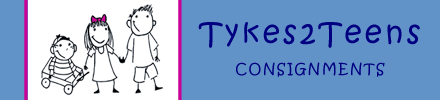 Tykes2Teens Consignments Logo